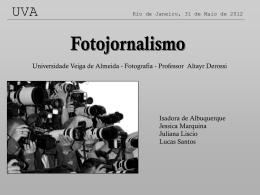 Fotojornalismo apresentação