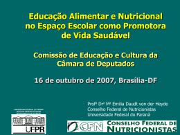 CÓDIGO DE ÉTICA DO NUTRICIONISTA 10 de maio de 2004