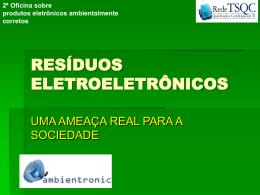 RESÍDUOS ELETROELETRÔNICOS
