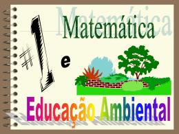 Educação Ambiental e a Matemática