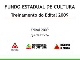 Redação - Secretaria de Estado de Cultura