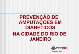 Amputações em Diabéticos - Saúde-Rio