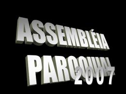 Relatório de Pré-Missão - Paróquia São Paulo Apóstolo