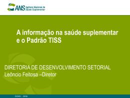 Apresentação Dr. Leoncio Feitosa