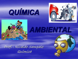 QUÍMICA AMBIENTAL :