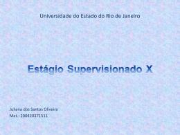 Apresentação Juliana Oliveira