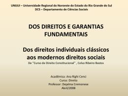 Dos direitos e garantias fundamentais ppt