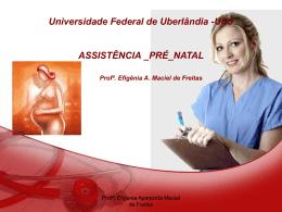 PRÉ-NATAL - UNIPAC
