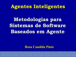Projeto de Sistemas baseados em Agentes