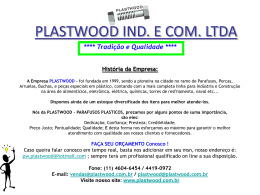 Catalogo PLASTWOOD