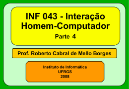 Fontes - Instituto de Informática