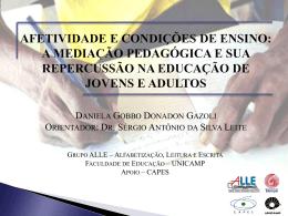 a mediação pedagógica e seu repercussão na educação de jovens e