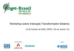 Workshop sobre Interação Transformador