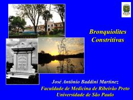 Bronquiolite Obliterante