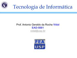 Tecnologia Cliente-Servidor - Erudito FEA-USP