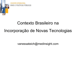 Vanessa Teich - Incorporação de Novas Tecnologias