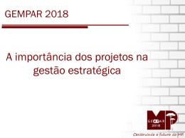 Mapa Estratégico - Ministério Público do Paraná