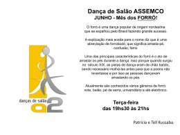 Dança de Salão ASSEMCO JUNHO