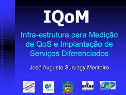 I Workshop do Projeto IQoM