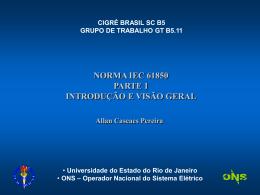 IEC61850 - Parte 1 - Resumo