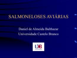 SALMONELOSES AVIÁRIAS - Universidade Castelo Branco