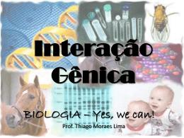 Interação gênica (prof Thiago) 3º ano EM