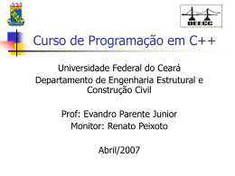 Aula 2 - DEECC - Universidade Federal do Ceará