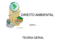 Direito Ambiental - Teoria Geral