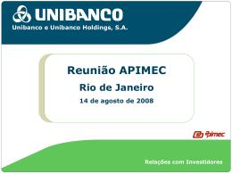 Apimec 2008 - Rio de Janeiro