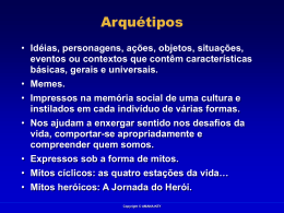 A Jornada do Herói.