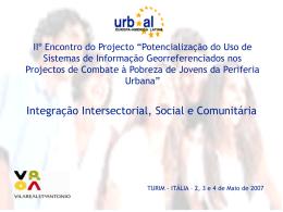 Reflexão Portugal - Integração Intersectorial