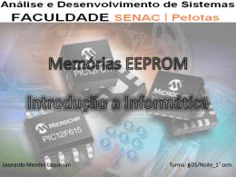 Memórias EEPROM