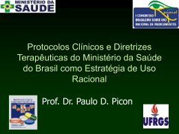 Prof. Dr. Paulo D. Picon