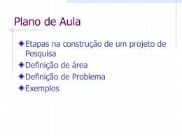 projeto - Centro de Informática da UFPE