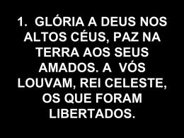 Glória a Deus nos Altos Ceus