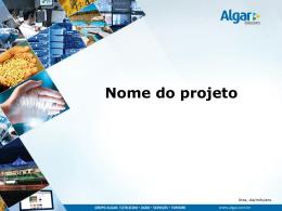 Slide 1 - Algar Inovação