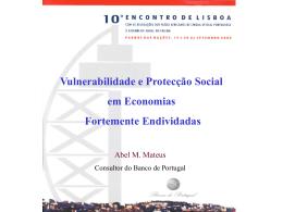 Vulnerabilidade e Protecção Social
