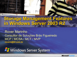 Storage Management Features in Windows