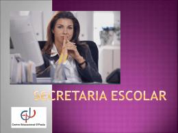 Apresentação Técnico em Secretaria Escolar