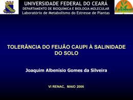 Palestra Joaquim AG Silveira - Embrapa Meio