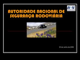 Autoridade Nacional Segurança Rodoviária