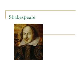 Shakespeare - Colégio Cor Jesu