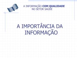importancia_da_informacao - SNA