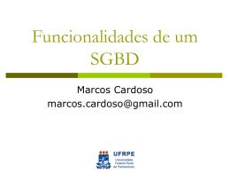 Banco de Dados Introdução