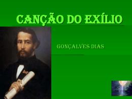 CANÇÃO DO EXÍLIO - eesenadorfilintomuller