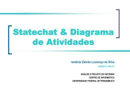 Aula prática de Statechat e Diagrama de atividades