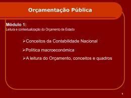 Orçamentação Pública
