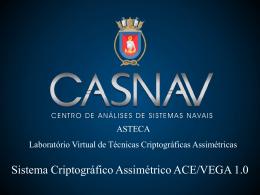 Laboratório Virtual de Técnicas Assimétricas - ASTECA