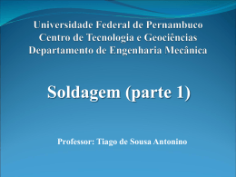 Universidade Federal de Pernambuco Departamento de