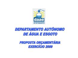 Orçamento 2009